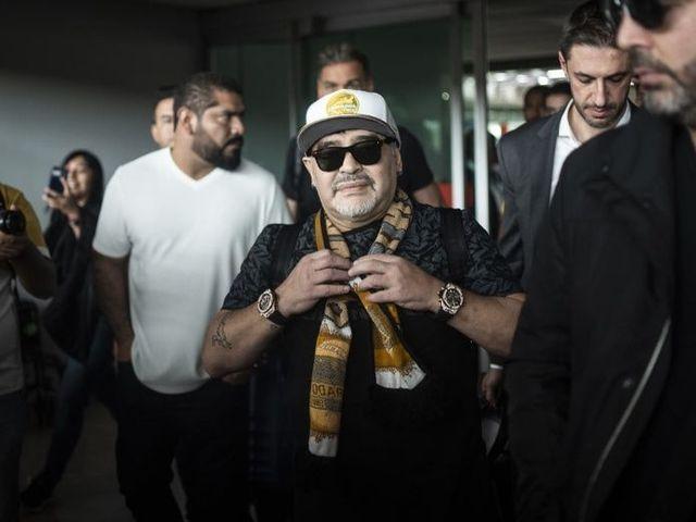 El sueldo que tendrá Maradona en Dorados