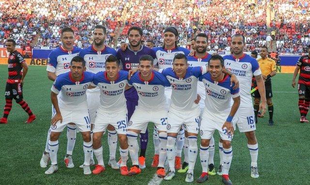 Alineación probable de Cruz Azul ante Zacatepec por Copa MX