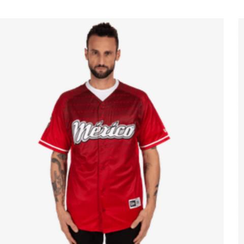 Uniforme Rojo Diablos Rojos de México Hombre