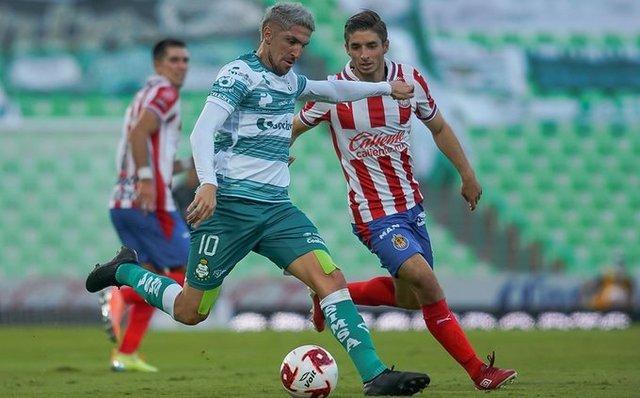 Resultado Santos vs Chivas- J2- Guard1anes 2020