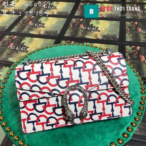 Túi Xách Gucci Dionysus Small Size 28 cm họa tiết