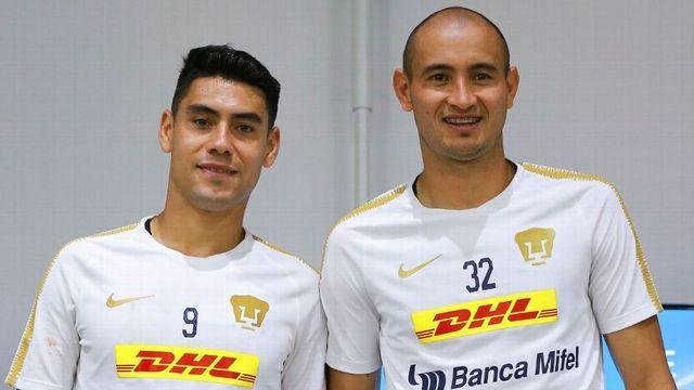 Mora y Sánchez tienen un gran reto con Pumas