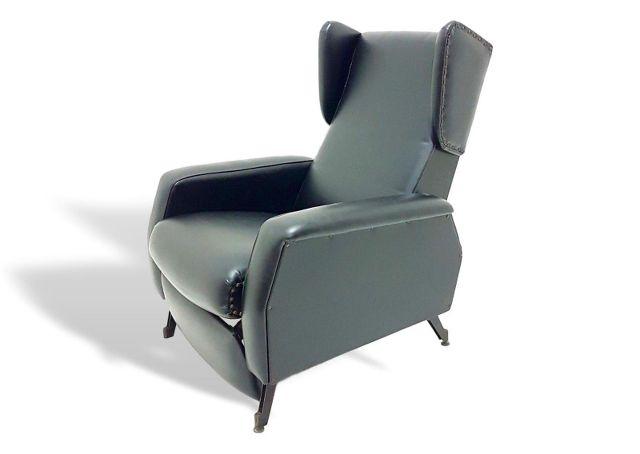 Poltrona Design Anni 70.Poltrona Reclinabile Design Anni 70 Vintage Armchair Chair Zanuso Ebay