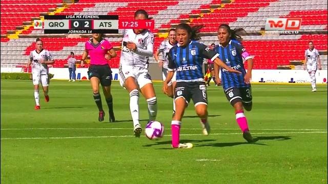 Resultado Querétaro vs Atlas – J12 – Apertura 2019 – Liga MX Femenil