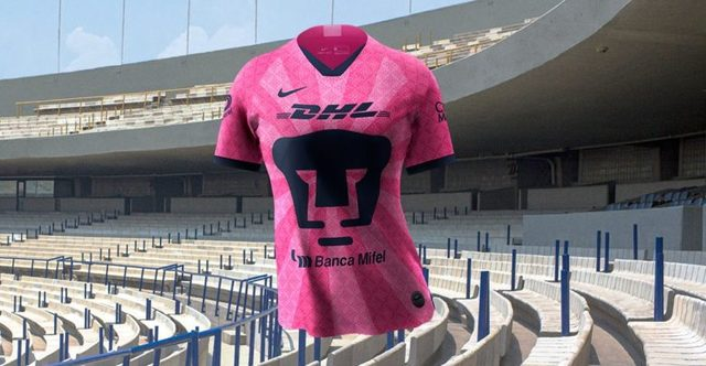 Pumas presenta jersey rosa en apoyo a la lucha contra el cáncer de mama