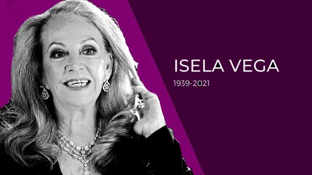 Falleció la actriz Isela Vega de Cáncer
