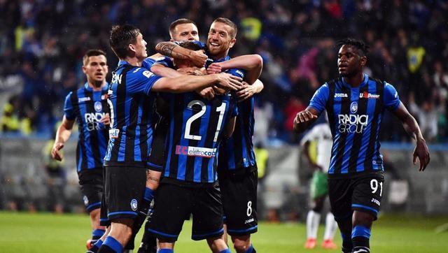 Atalanta se clasifica a la Champions League por primera vez