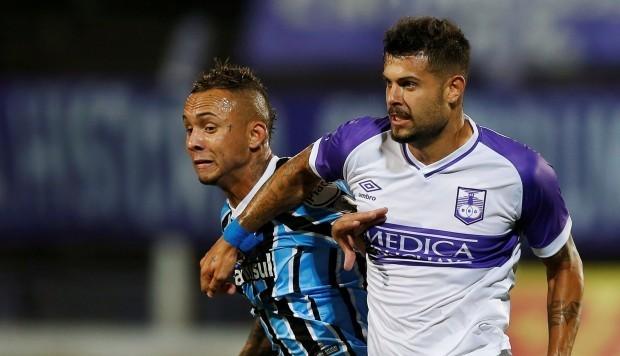Resultado del Defensor Sporting vs Grêmio  en Copa Libertadores