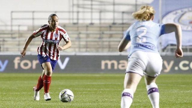 Charlyn Corral anota para el Atlético de Madrid en la Champions League