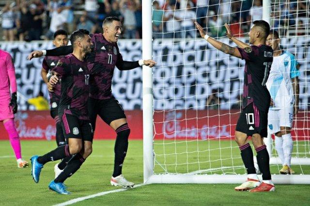 Resultado México vs Guatemala -Fase de Grupos- Copa de Oro 2021