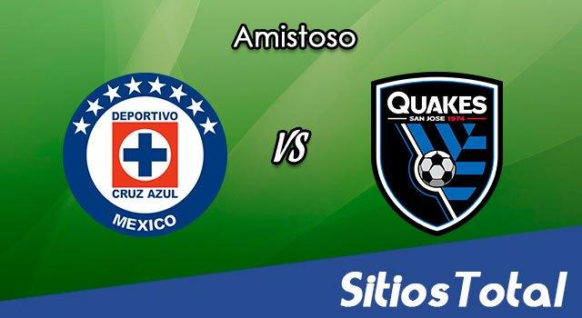 Cruz Azul vs San Jose Earthquakes en Vivo – Partido Amistoso – Sábado 13 de Octubre del 2018