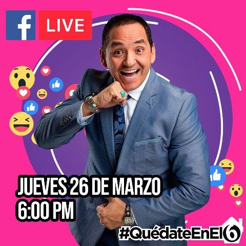 Facebook Live con Ernesto Chavana en Vivo – Jueves 26 de Marzo del 2020