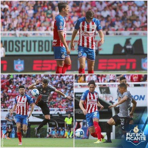 Resultado Chivas vs Necaxa -Jornada 6- Apertura  2019
