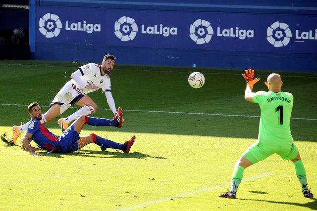 Resultado Eibar vs Osasuna – J6- La Liga 20-21