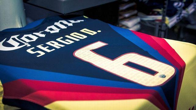 Sergio Díaz firmó este martes su contrato con el América