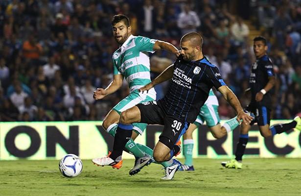 Resultado Queretaro vs Santos en J15 de Apertura 2018