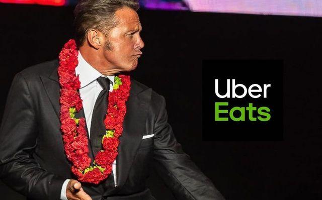 Cuanto pago Uber Eats a Luis Miguel