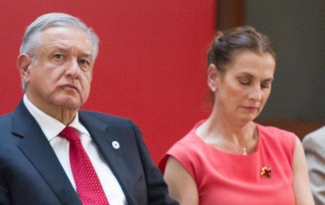 Celos de la esposa de López Obrador con  ex reina de belleza