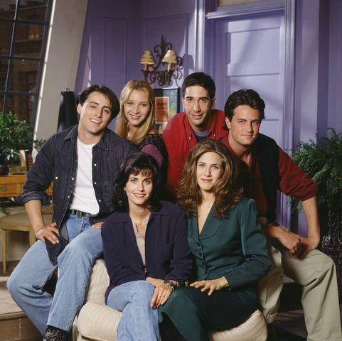 Primera foto de la reunión de 'Friends'
