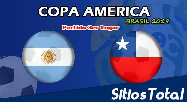 Argentina vs Chile en Vivo – Partido por el 3er Lugar – Copa América Brasil 2019