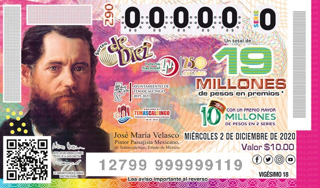 Lotería Nacional Sorteo de Diez No. 290 en Vivo – Miércoles 2 de Diciembre del 2020