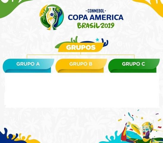 Así quedaron Grupos de la Copa América 2019