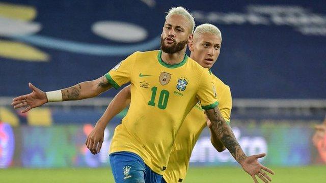 Resultado Brasil vs Perú-Fase de Grupos- Copa América 2021