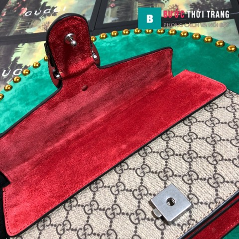Gucci Dionysus Small Size 28 cm, khóa đầu rồng, màu đỏ