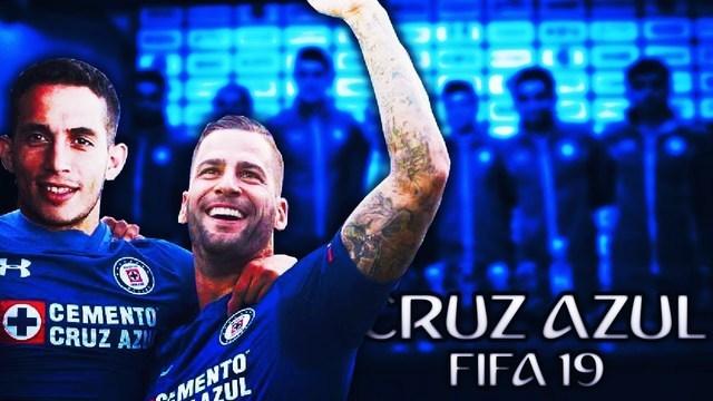 Datos del Cruz Azul para el videojuego FIFA 19