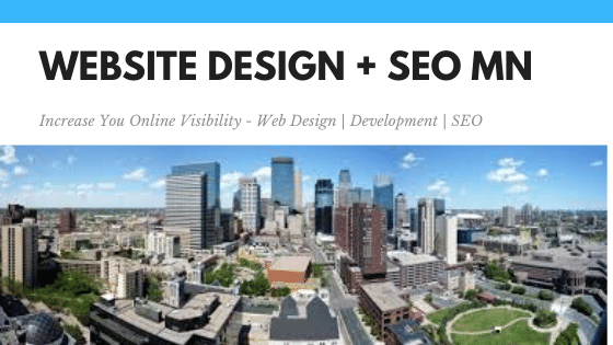 Website Design + Seo Blaine Minnesota