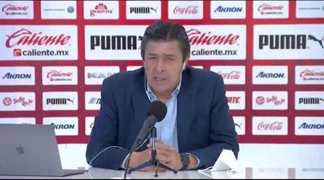 Conferencia de prensa de Tena tras derrota de Chivas