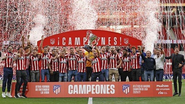 Héctor Herrera y Atlético de Madrid Campeón de La Liga Española