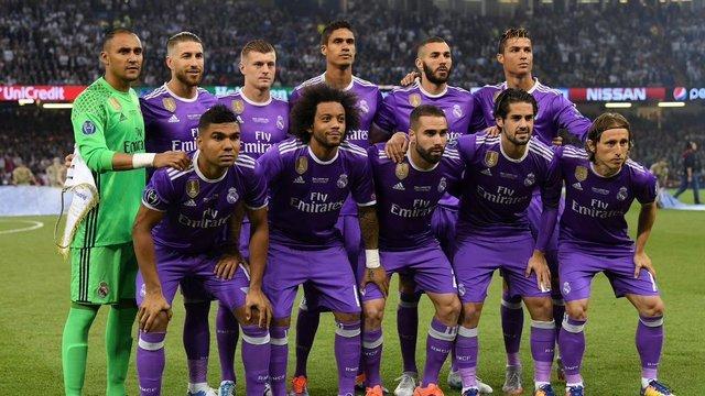 Alineación del Real Madrid vs Liverpool en la Final de la Champions League 2018