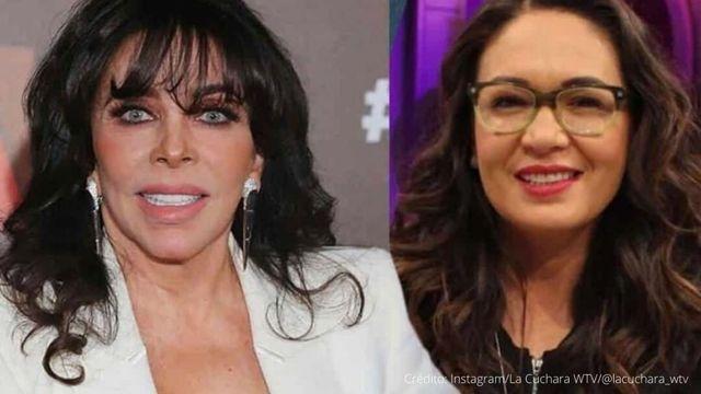Verónica Castro y Yolanda Andrade ya se hablan