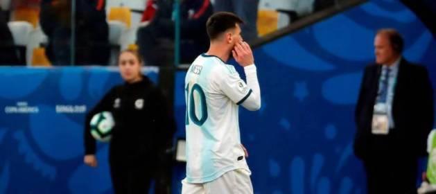 Messi suspendido 3 meses por insultar a su federación
