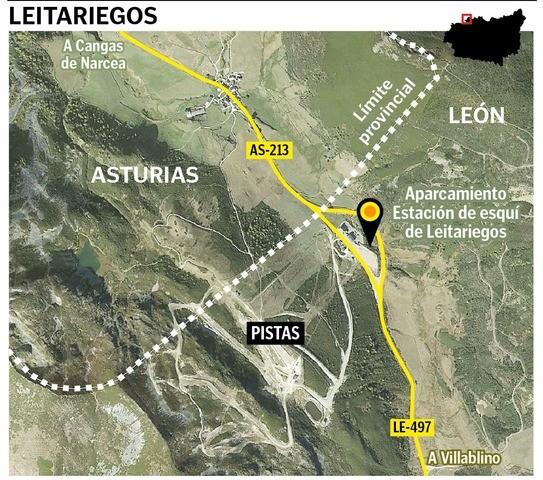 Limites Asturias - León (Leitariegos)