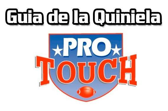Guia de Quiniela ProTouch del concurso 772 – Quiniela en venta hasta el Viernes 8 de Enero del 2021