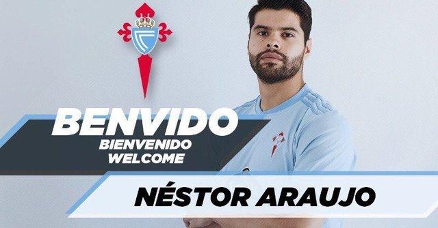 Néstor Araujo al Celta de Vigo es oficial
