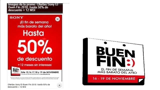 Ofertas Sony El Buen Fin 2018
