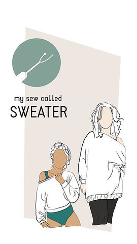 New Pipe Dream Patterns sewing project: My Sew Called Sweater – Oh ...