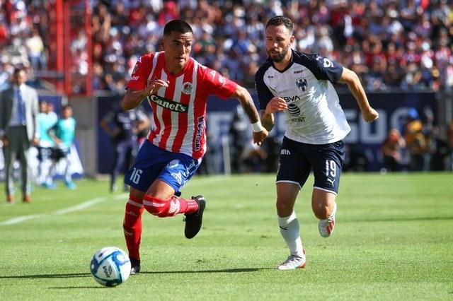Resultado Atlético San Luis vs Monterrey -Jornada 2- Apertura  2019