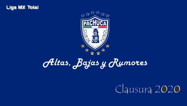 Altas, Bajas y Rumores del Pachuca – Clausura 2020