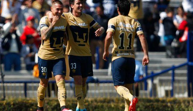 Resultado Pumas vs Atlas  en Jornada 2 del Clausura 2018