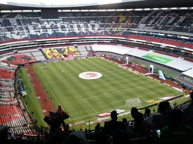 Afición del América no llena el Estadio