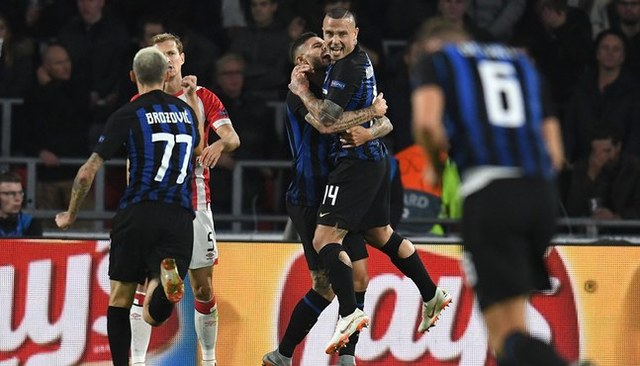 Resultado del PSV vs Inter – Fase Grupos – Champions League