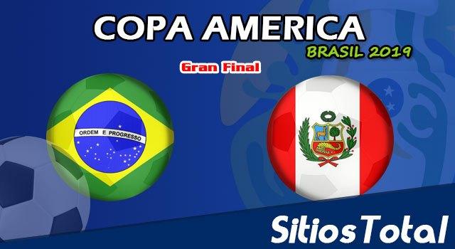 Brasil vs Perú en Vivo – Final Copa América Brasil 2019