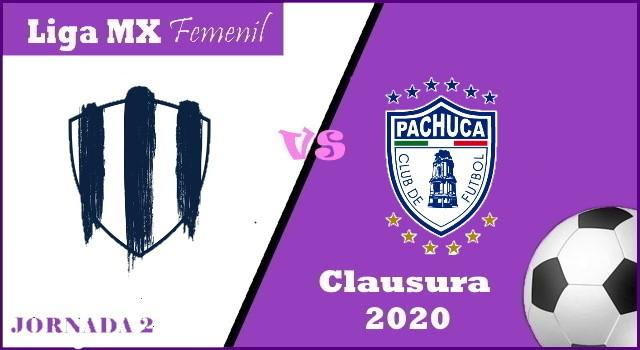 Monterrey vs Pachuca – Transmisión por TV y Horario – Clausura 2020 Liga MX Femenil