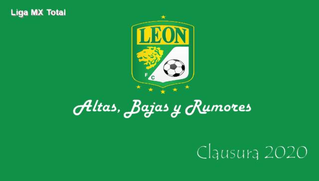 Altas, Bajas y Rumores del León – Clausura 2020