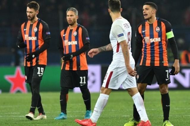 Resultado del Shakhtar Donetsk vs AS Roma en Octavos de Champions League