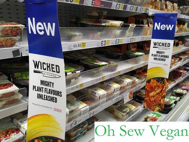 veganuary ambassador derek sarno vegans around the uk flocked to their nearest tesco store to try and get their hands on the wicked kitchen products - Wicked Kitchen